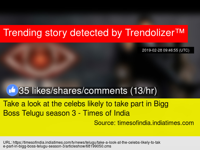Take a look at the celebs likely to take part in Bigg Boss