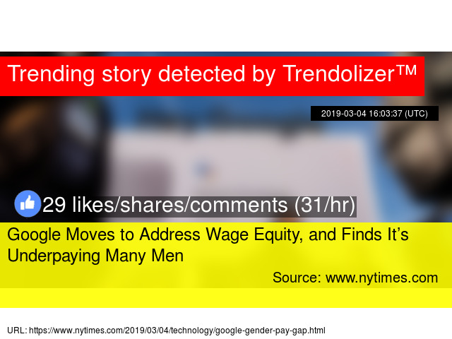 Google Moves to Address Wage Equity, and Finds It's Underpaying Many Men