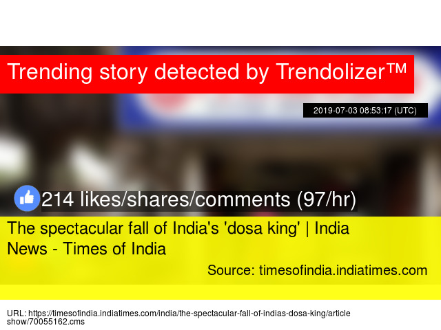 The spectacular fall of India'