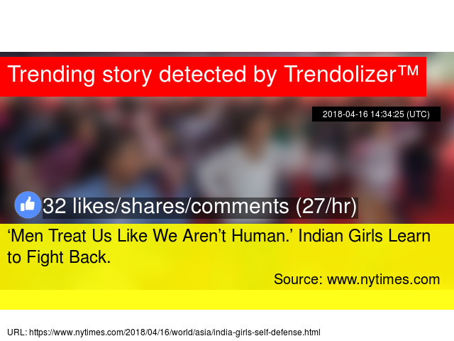 3c41931c0  Men Treat Us Like We Aren t Human.  Indian Girls Learn to Fight Back.