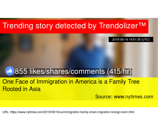 One Face of Immigration in America is a Family Tree Rooted