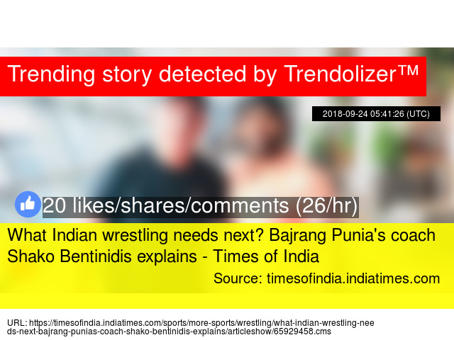 What Indian wrestling needs next? Bajrang Punia's coach