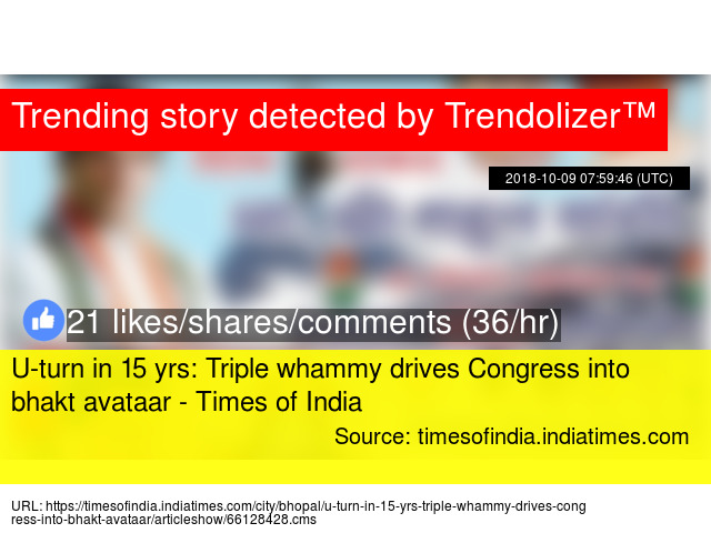 U-turn in 15 yrs: Triple whammy drives Congress into bhakt
